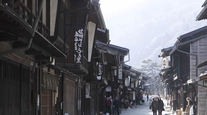 長野県・木曽路・奈良井宿