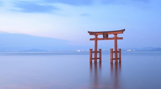 滋賀県・白鬚神社