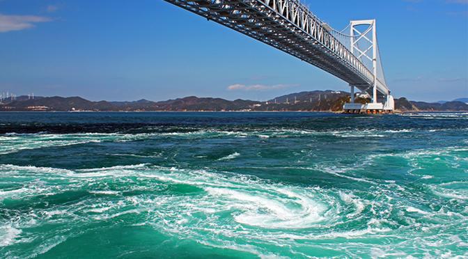 徳島県・鳴門の渦潮