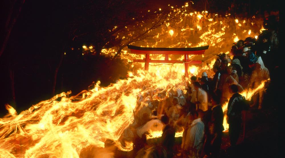 和歌山県・お燈まつり